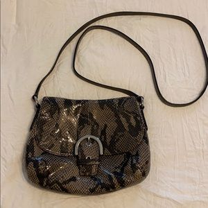 Snakeskin Coach bag!